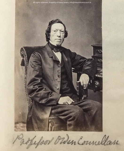 Rare photo of Prof. Owen Connellan 1797-1871, who translated the Annals of the Four Masters from Irish to English in 1846